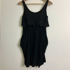 Theory silk blend tank dress 0 made in USA